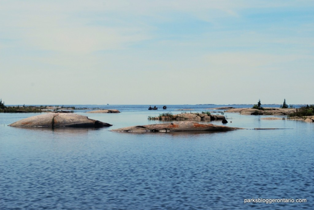 paddle to Bustard Islands - French River Provincial Park - Ontario