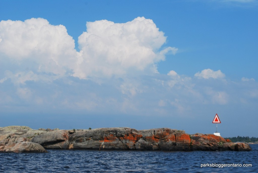 Cloud Tower and unpredicted weather at French river provincial park