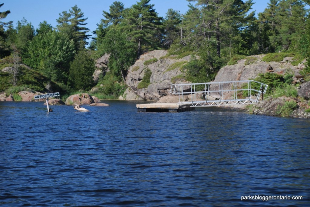 The Lower Portage - French River Provincial Park - Ontario
