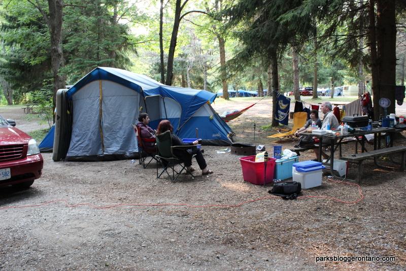Electrical campsite at Mara provincial park ontario