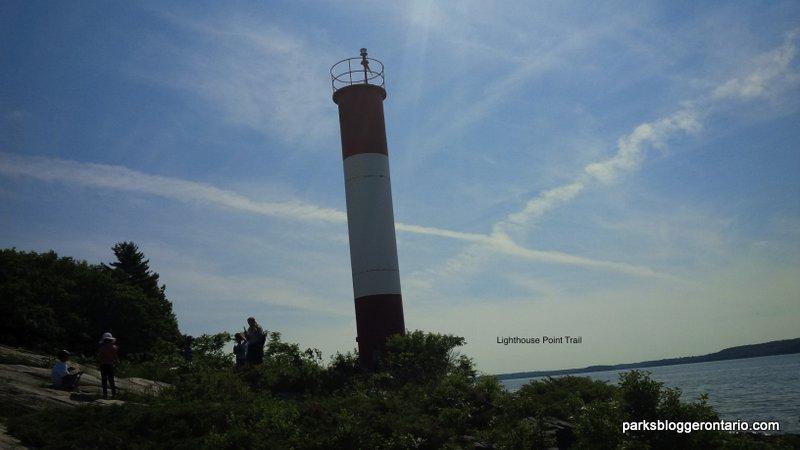 Lighthouse point trail at killbear provincial park