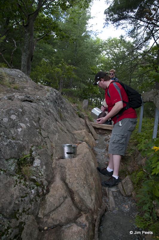 Cliff Top Trail at Bon Echo Provincial Park