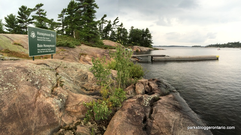 Honeymoon Bay - Beausoleil island