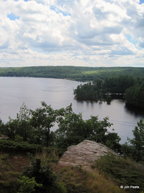 Cliff Top Trail in Bon Echo Provincial Park