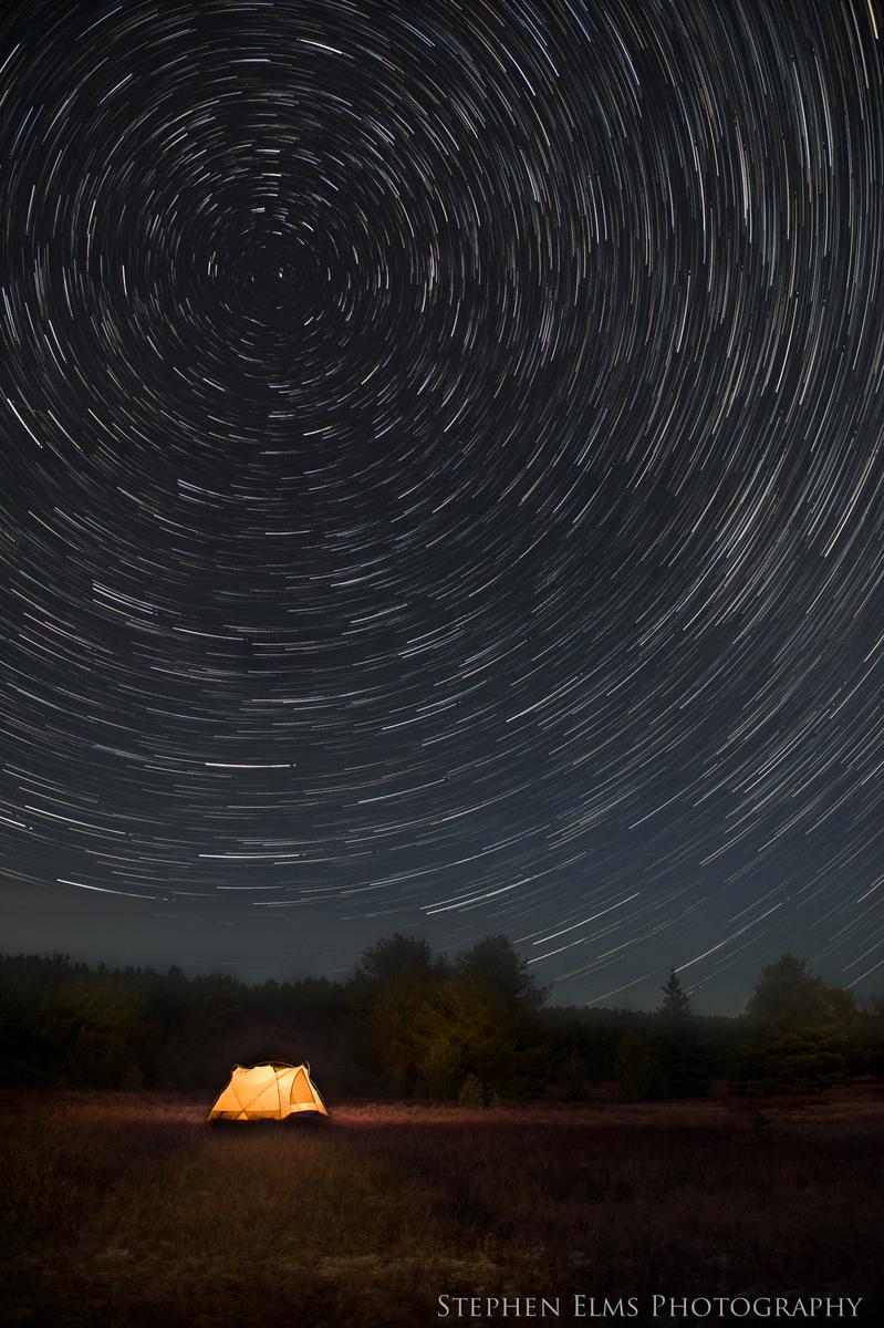 Star trails - Algonquin Provincial Park - Photography