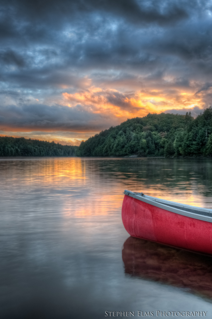 back country canoe routes in Algonquin Park