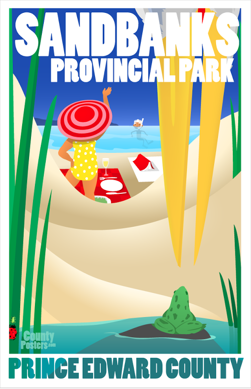 Sandbanks Provincial Park Ontario
