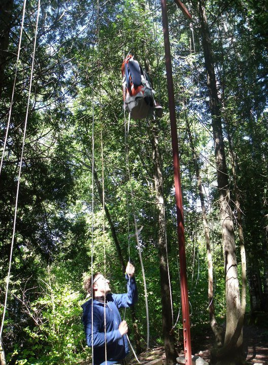 Bear Hang - camping - food hacks