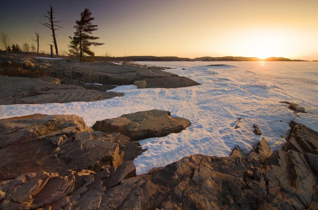 Lake Huron, Sagamok - near La Cloche Provincial Park