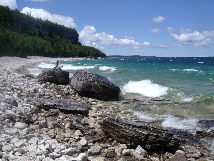High Dump - Bruce Peninsula National Park