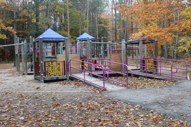 springwater provincial park kids play area