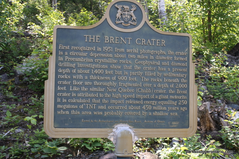 The Brent Crater - Algonquin Provincial Park