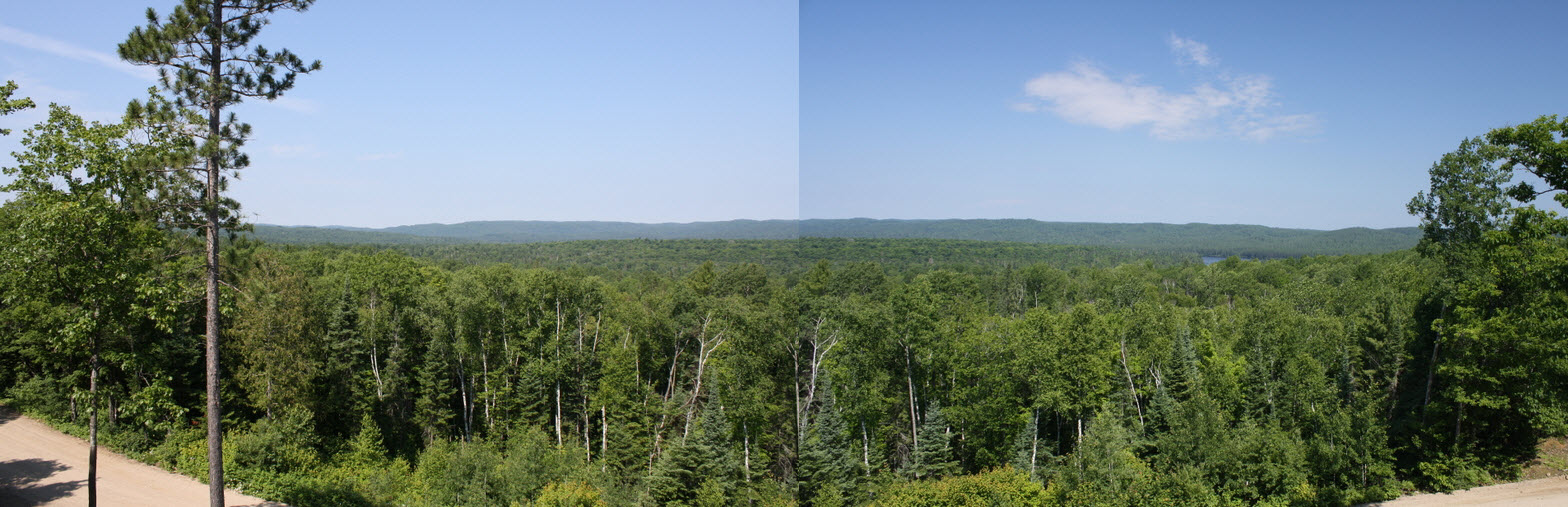 View - Brent Crater - Algonquin