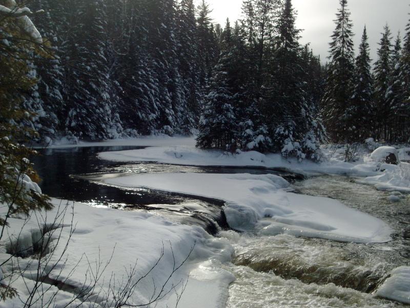 winter wonderland - algonquin's highlands backpacking trail