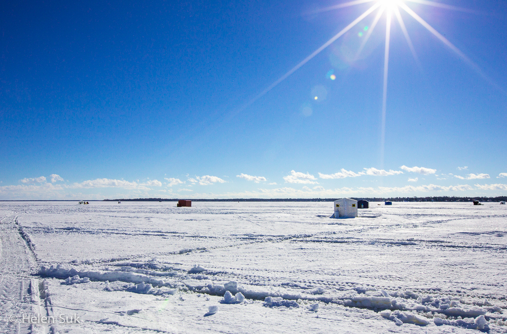 Ice Fishing - Lake Simcoe (2)