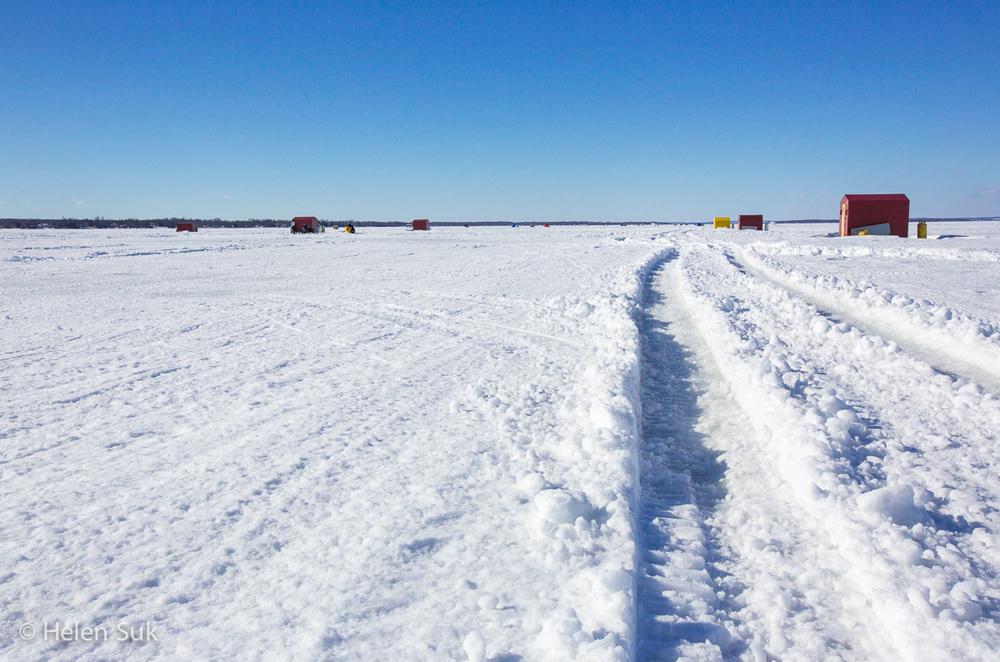 Photo Essay Ice Fishing Made Easy At Lake Simcoe