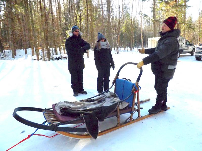 initial training at winterdance